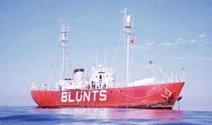 Blunts Reef Lightship / WLV612