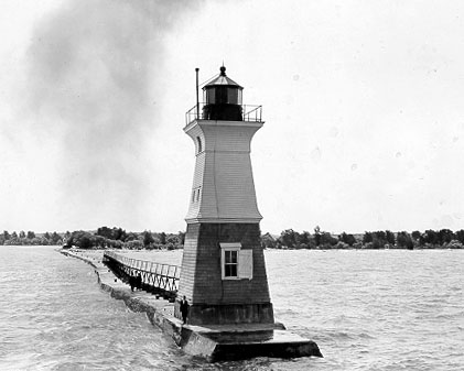 Sodus Outer Lighthouse courtesy U.S. Coast Guard