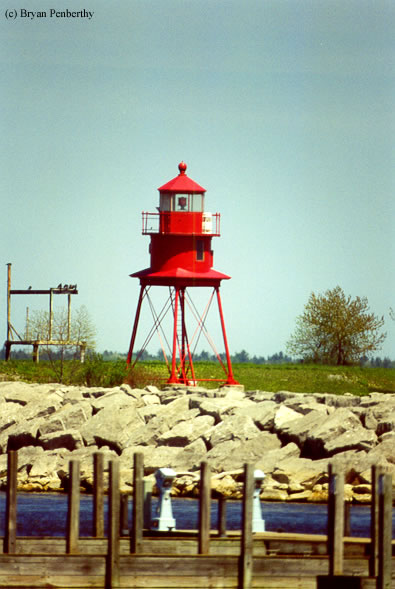 Photo of the Alpena Lighthouse.
