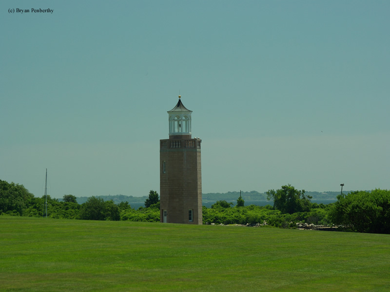 Photo of the Avery Point Lighthouse.