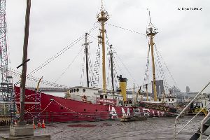 Ambrose Lightship at the South Street Seaport Museum.
