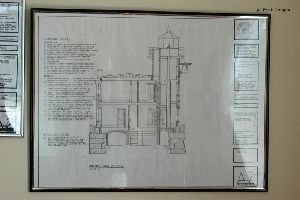 Technical drawing of the lighthouse.