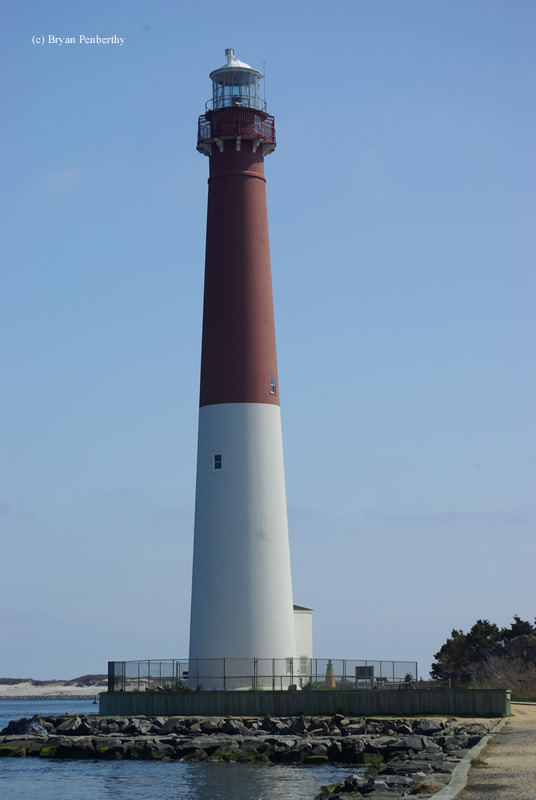Photo of the Barnegat Lighthouse.