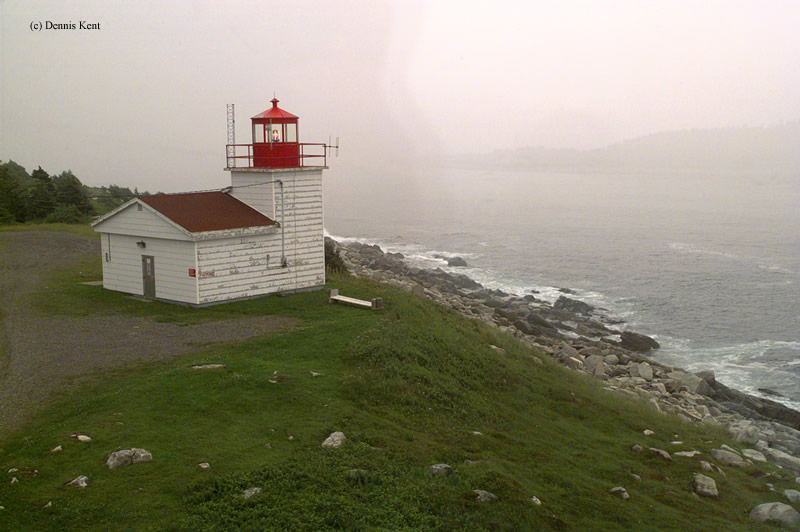 Photo of the Port Bickerton Lighthouse.