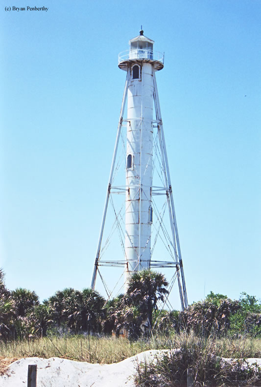 Photo of the Boca Grande Rear Range (Gasparilla Island) Lighthouse.