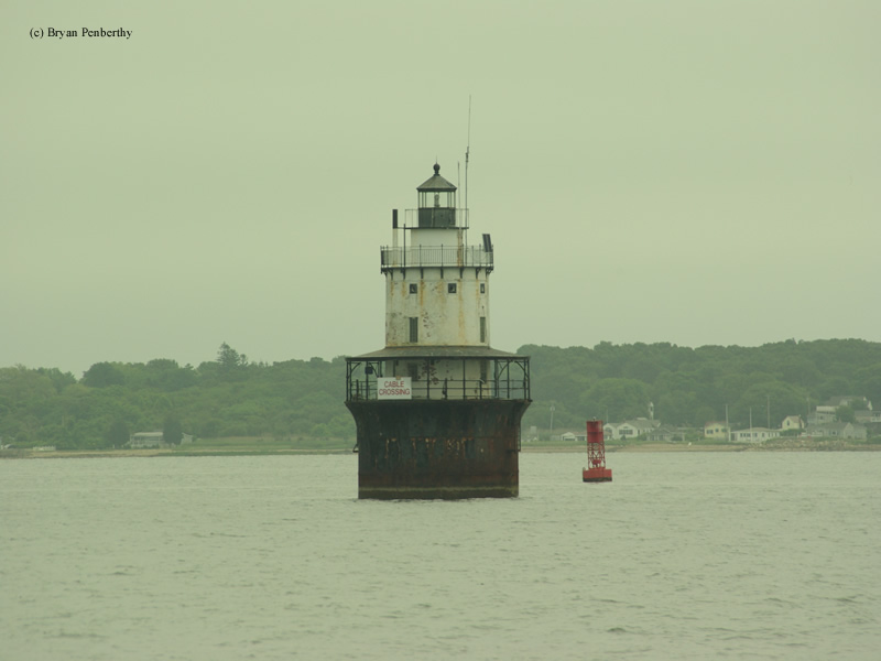 Photo of the Butler Flats Lighthouse.