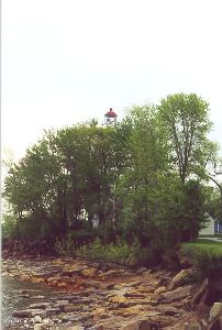 Great shoreline shot of the lighthouse.