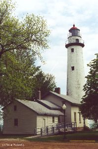 The lighthouse / keeper