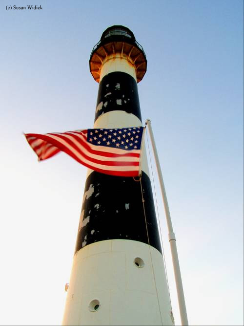 Photo of the Cape Canaveral Lighthouse.