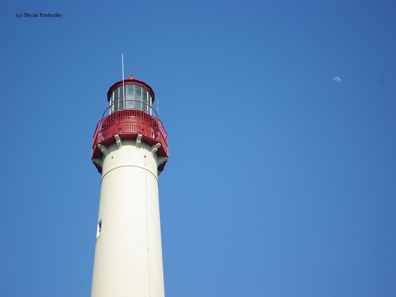 Photo of the Cape May Lighthouse.