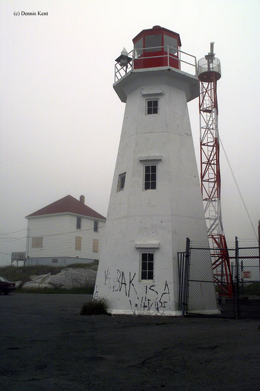 Photo of the Chebucto Head Lighthouse.