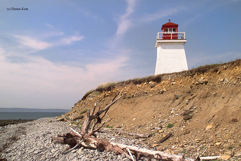 Photo of the Church Point Lighthouse.