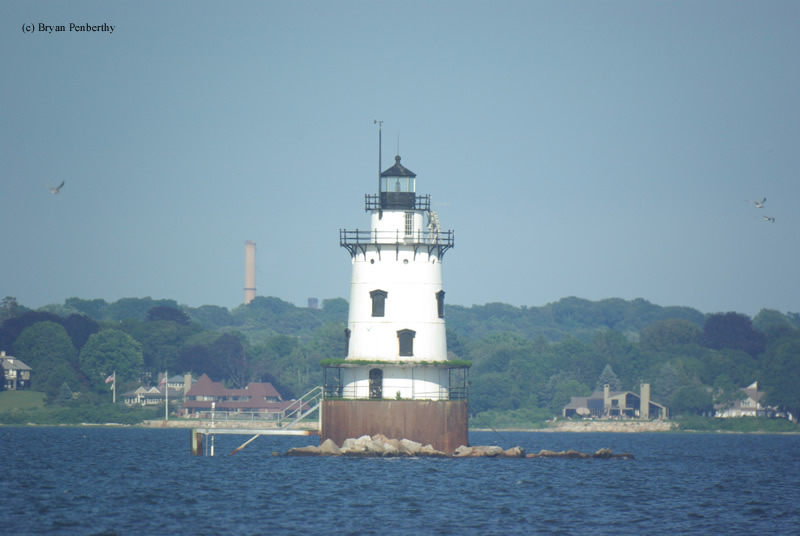 Photo of the Conimicut Point Lighthouse.