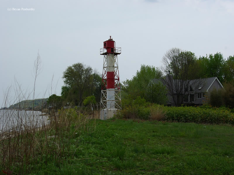 Photo of the Conover Beacon Lighthouse.