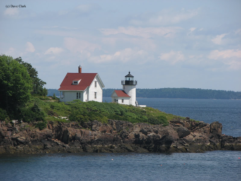 Curtis Island Lighthouse Camden Maine