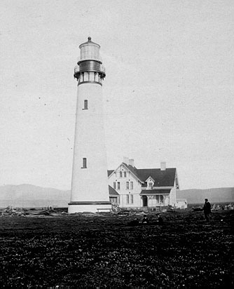 U.S. Coast Guard Archive Photo of the Point Arena Lighthouse
