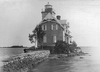 1885 Sisters Island Lighthouse