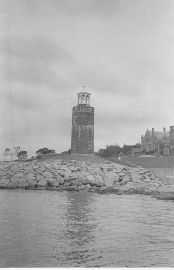 U.S. Coast Guard Archive Photo of the Avery Point Lighthouse