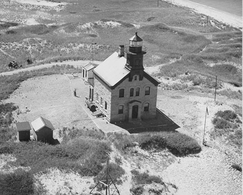 U.S. Coast Guard Archive Photo of the Block Island North Lighthouse