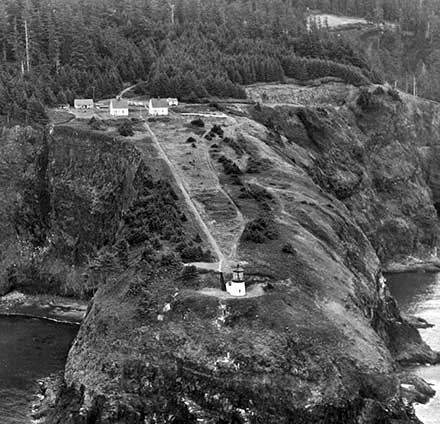U.S. Coast Guard Archive Photo of the Cape Meares Light Station