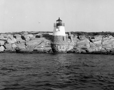 U.S. Coast Guard Archive Photo of the Castle Hill Lighthouse