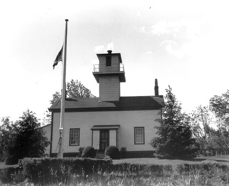 U.S. Coast Guard Archive Photo of the Chapel Hill Rear Range Light
