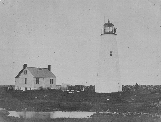1804 Clark's Point Lighthouse
