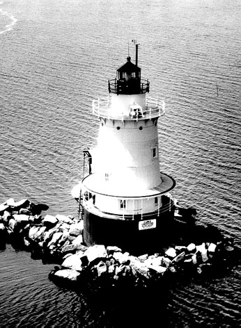 U.S. Coast Guard Archive Photo of the Conimicut Point Lighthouse