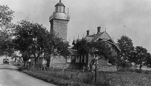 U.S. Coast Guard historical Photo of the Dunkirk Lighthouse