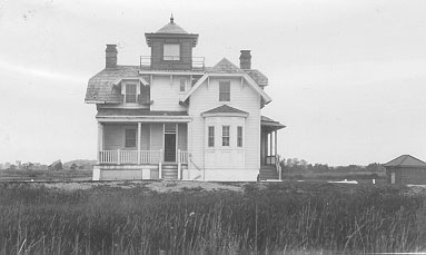 U.S. Coast Guard Archive Photo of the Finns Point Front Range Lighthouse