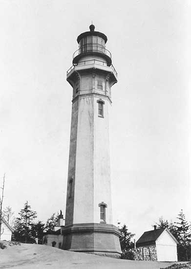 U.S. Coast Guard Archive Photo of the Grays Harbor Lighthouse