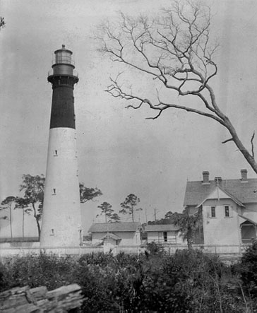 Hunting Island Lighthouse Coast Guard Archive Photo