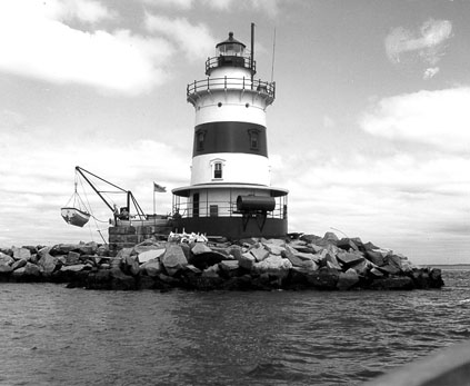 U.S. Coast Guard Archive Photo of the Latimer Reef Lighthouse