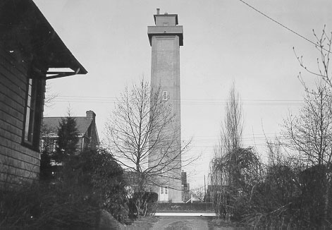 U.S. Coast Guard Archive Photo of the Marcus Hook Rear Range Lighthouse