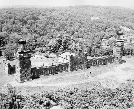 U.S. Coast Guard Archive Photo of the Navesink Lighthouse