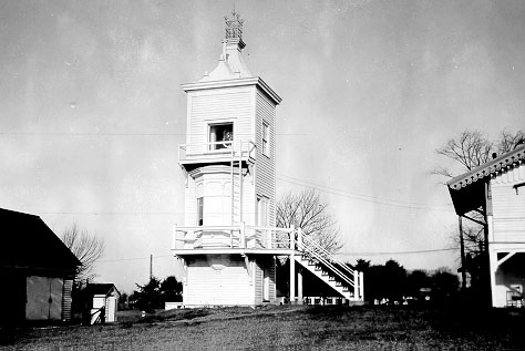 U.S. Coast Guard Archive Photo of the New Castle Front Range Lighthouse