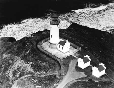 U.S. Coast Guard Archive Photo of the North Head Lighthouse
