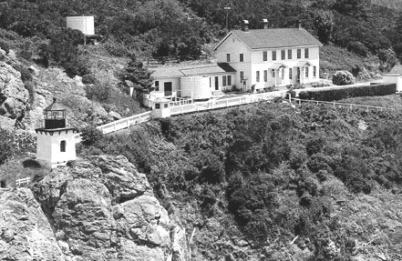 U.S. Coast Guard Archive Photo of the Trinidad Head Lighthouse