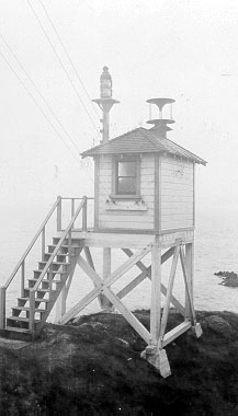 The 1915 Point Blunt Lighthouse