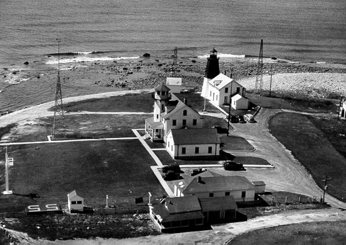 Point Judith with attached dwelling.