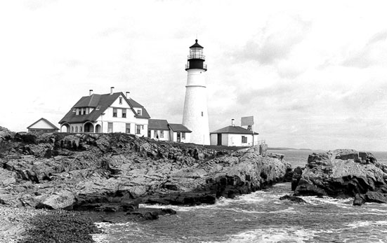 U.S. Coast Guard Archive Photo of the Portland Head Light