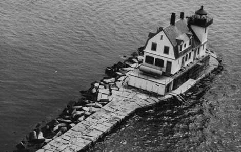 U.S. Coast Guard Photo of the Rockland Breakwater Light