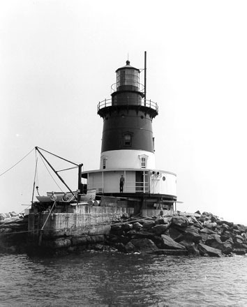 Romer Shoal Lighthouse picture - U.S. Coast Guard Archive Photo