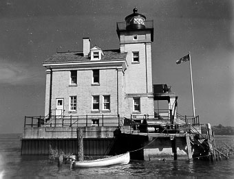 Rondout II Lighthouse - U.S. Coast Guard Archive Photo