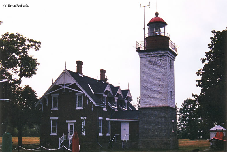 Photo of the Dunkirk Lighthouse.