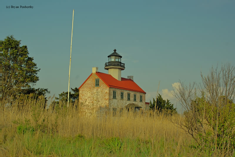 Photo of the East Point Lighthouse.