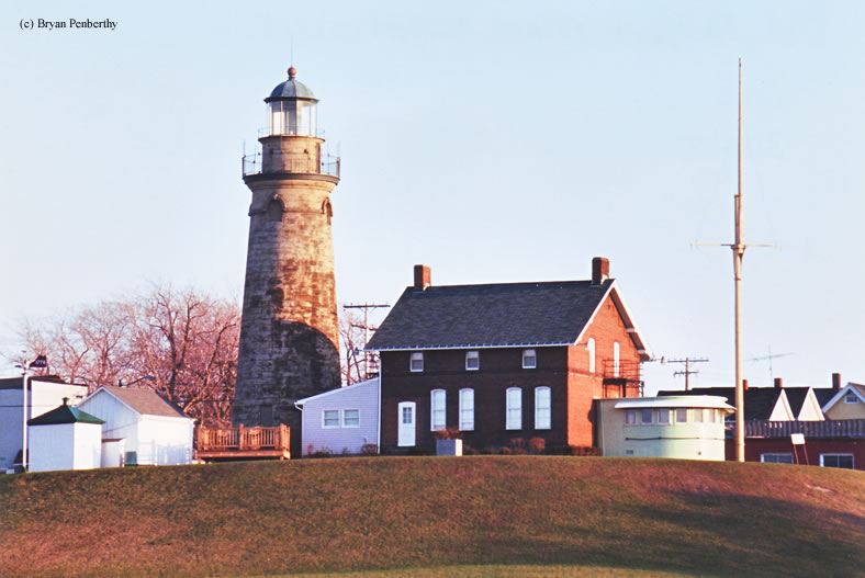 Photo of the Fairport Harbor Lighthouse.