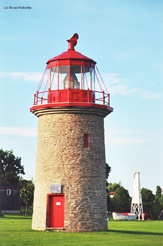 Photo of the False Duck Island Lighthouse.