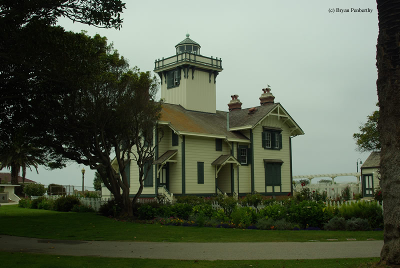 Photo of the Point Fermin Lighthouse.