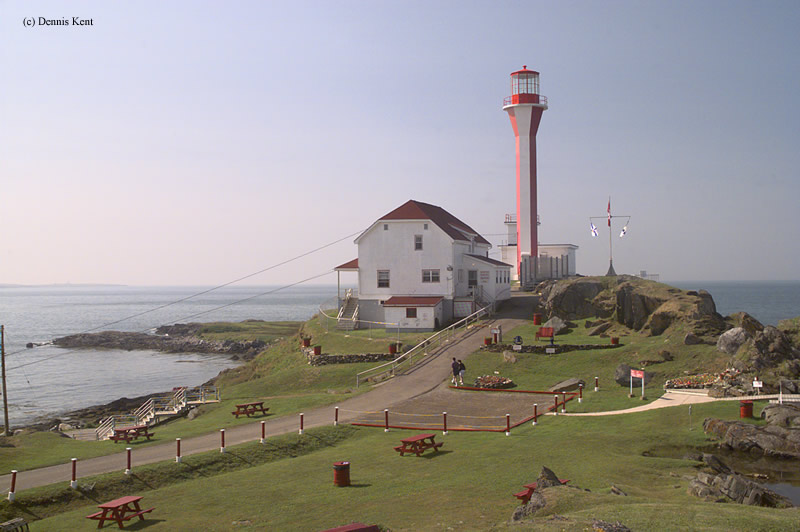 Photo of the Cape Forchu Lighthouse.